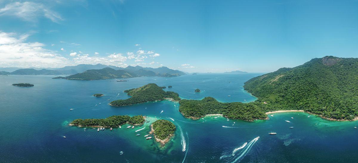 Panorâmica Ilha Grande
